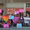 En la sede porteña de la Casa de Santa Fe ATTTA y la FALGBT reclamaron justicia para Fernanda Olmos