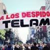 ¡Basta de Despidos! ¡Basta de Ajustes! ¡Reincorporación de lxs Trabajadorxs de TELAM!